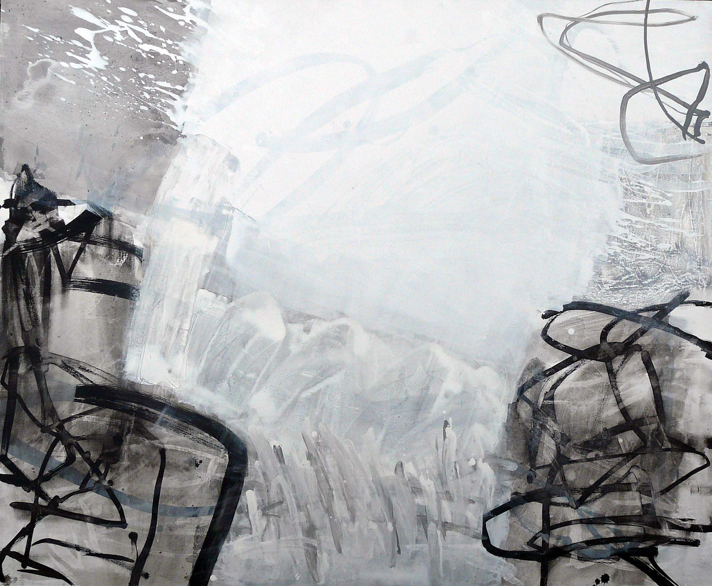 Alles bleibt offen, 2015|H100 x B120 cm